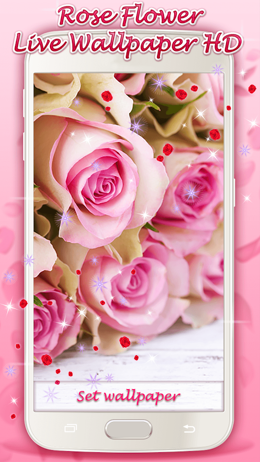 Rose Flower Live Wallpaper HD - Android Apps on Google Play