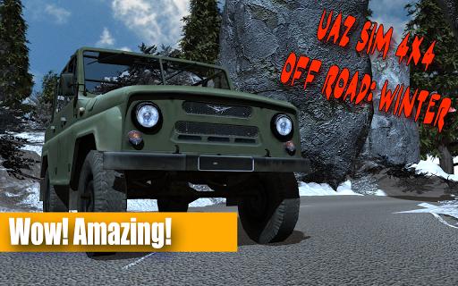 UAZ Sim 4x4 Off Road: Winter