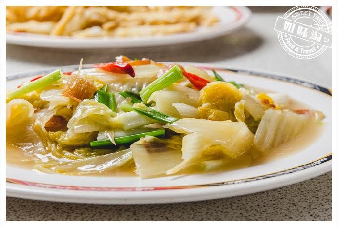 冠月明土雞城扁魚白菜