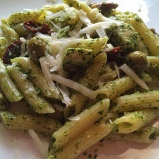 Penne With Homemade Pesto Sauce