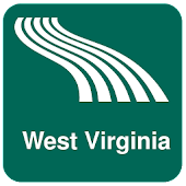 West Virginia Map offline