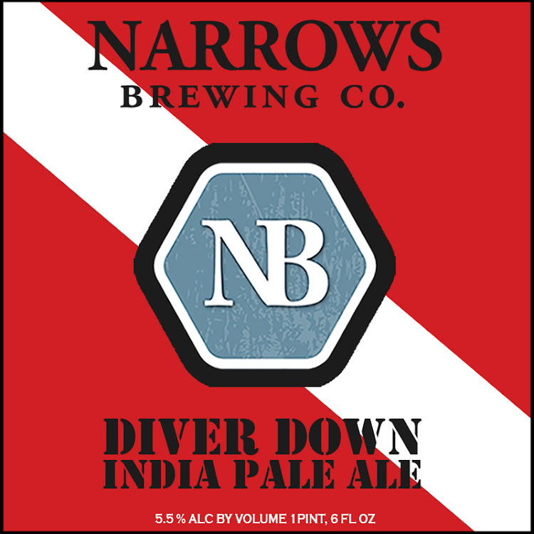 Logo of Narrows Diver Down IPA