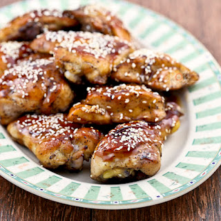 Sticky Hoisin Honey Chicken.
