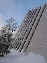 Photo: la cathédrale arctique