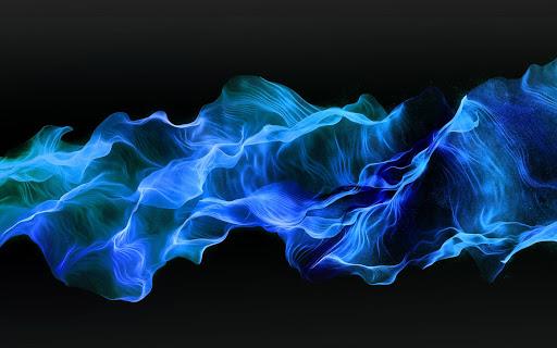 Blue Fire Live Wallpaper