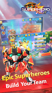 Superheld Fruit Premium: Robot Wars Future Battles
