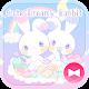 Pastel colors Wallpaper Cute Dreamy Rabbit Theme apk
