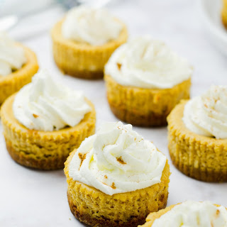 Mini Pumpkin Ricotta Cheesecakes (Gluten Free) Recipe