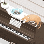 猫のお茶会