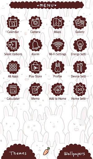 Wallpaper Many Rabbits Theme 1.0.0 Windows u7528 2