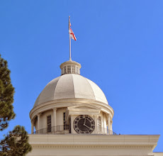 Photo: Alabama State House - The Dome and the Clock