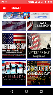 Happy Veterans Day Wallpaper Wishes Greetings SMS - náhled