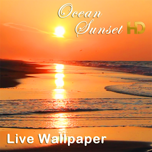 Ocean Sunset HD LWP apk