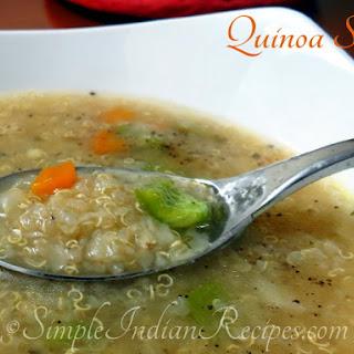 Quinoa Soup.