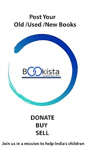 Bookista-Buy , sell ,donate used/old books near u. 1