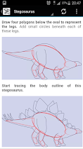 Dinosaur Drawing - screenshot thumbnail 04