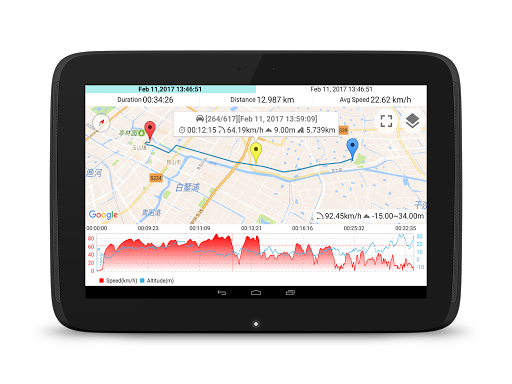 Speed View GPS screenshot 9