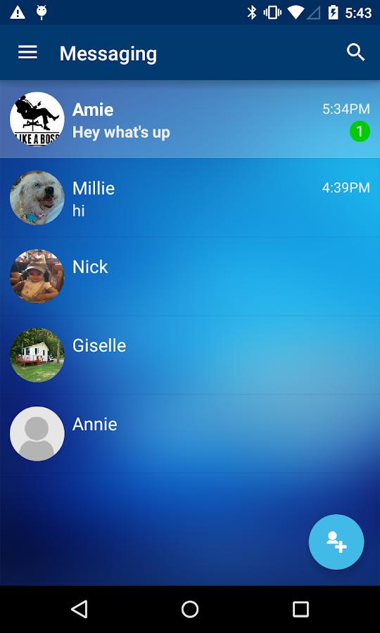 CONNECT-Secure Messaging Beta- screenshot