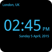 World Clock Fullscreen