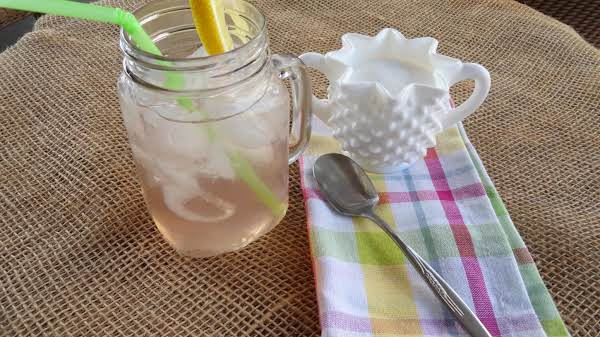 Strawberry Jasmine Sun Tea