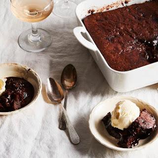 Magical Molten Chocolate Cake.
