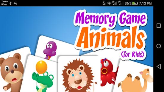 KidsMemory Game - náhled