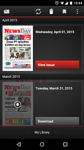 NewsDay Newspaper Zimbabwe