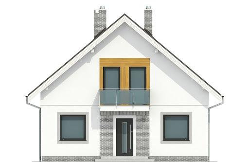 Dom Dla Ciebie 6 bez garażu B - Elewacja przednia
