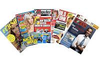Angebot für Gratis Zeitschriften-Jahresabo im Supermarkt