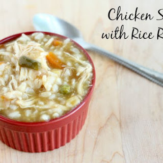 Chicken Soup with Rice.