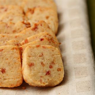 Parmesan Bacon Shortbread.