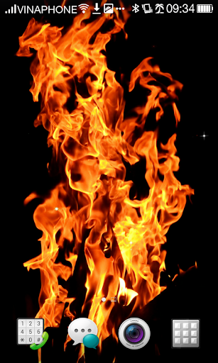 Fire Live Wallpaper HD 4K