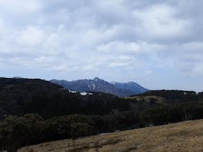 山頂から鎌ヶ岳