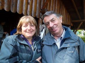 Photo: Doris et Clément, le guide de ce jour.
