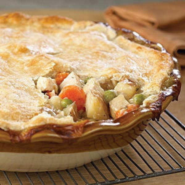 Chicken And Bacon Pot Pie Recipe
