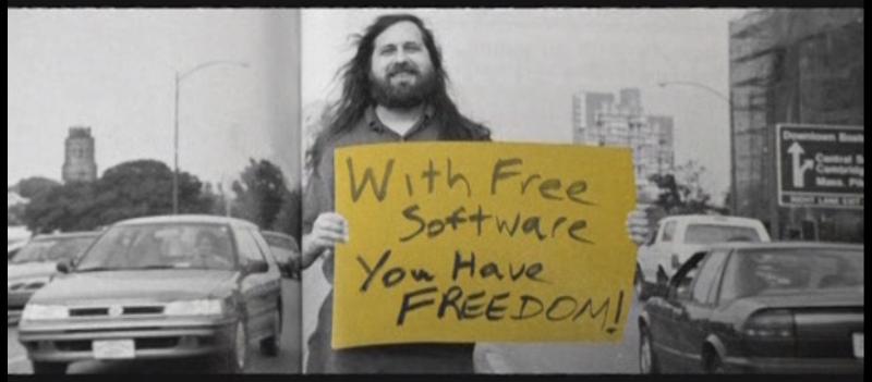 Photo: From documentary RevolutionOS