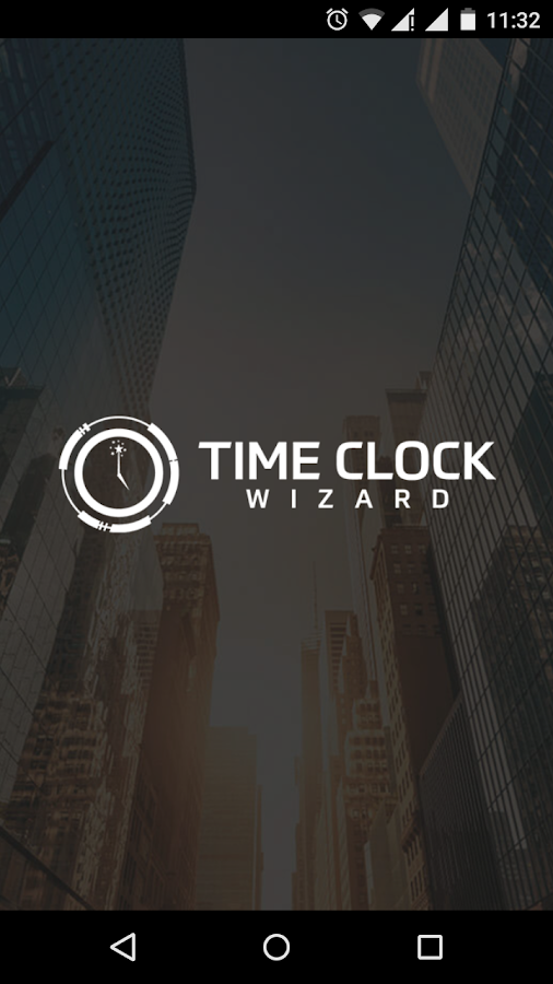 Time Clock Wizard- screenshot