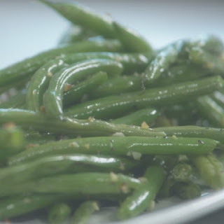 Heavenly Sauteed String Beans with Garlic.