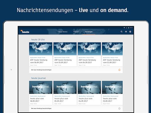 ZDFheute - Nachrichten 2.9 screenshots 9