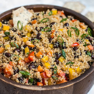 Smoky Quinoa and Black Bean Salad.