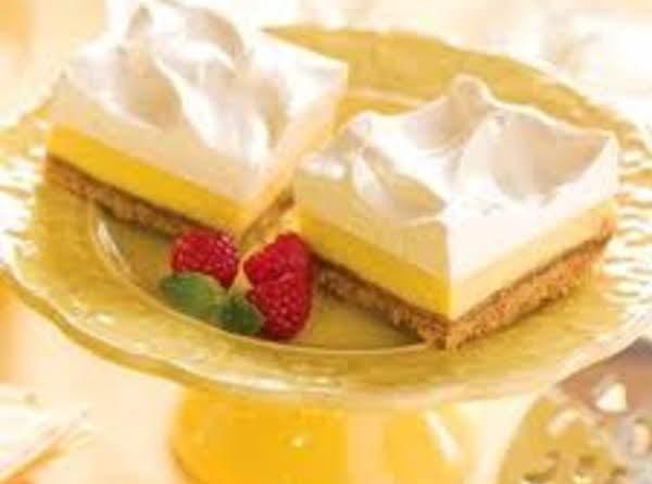 Frozen Lemon Squares Recipe