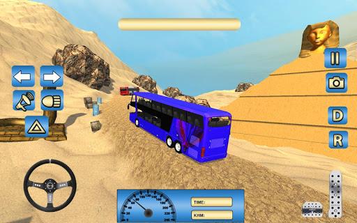 Offroad Desert Bus Simulator apktram screenshots 6