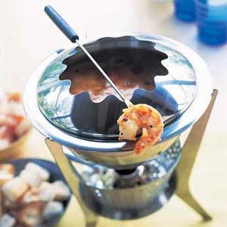 Shrimp Bouillabaisse Fondue.