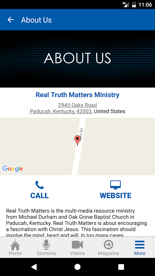 Real Truth Matters- screenshot
