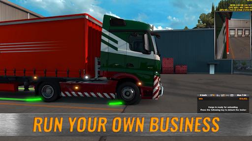 Europe Truck Simulator 1.6 screenshots 1