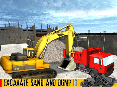 Sand Excavator Crane 1.1 screenshot 70020