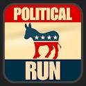 Political Run - Democrat icon