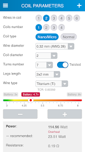 Reprova MicroCoil Calc- screenshot thumbnail