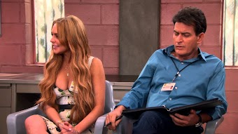 Charlie Gets Lindsay Lohan In Trouble