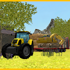 Tractor Driving 3D: Excavator Transport icon